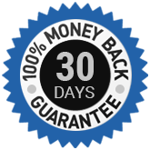 100% 30 Days Money Back Guarantee