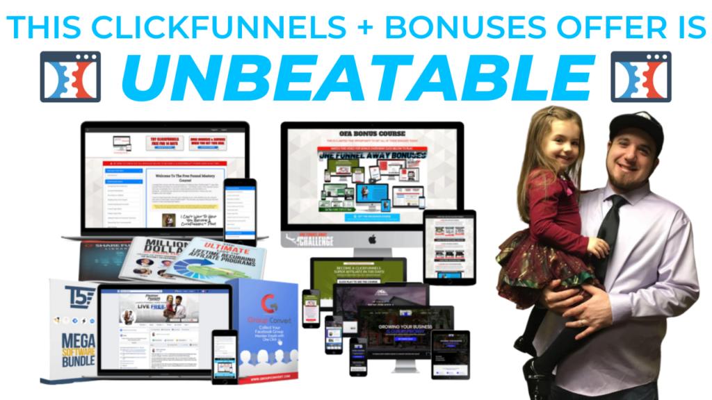 ClickFunnels Trial Bonuses