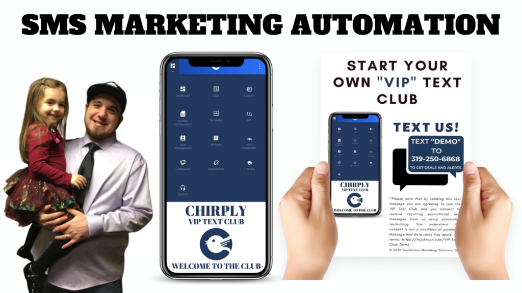 Chirply SMS Marketing Automation
