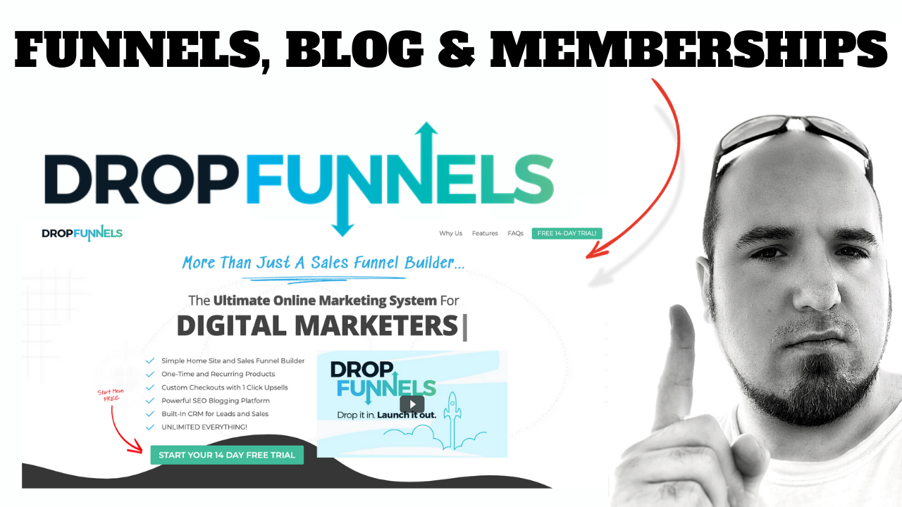 Funnels, Blog And Memberships
