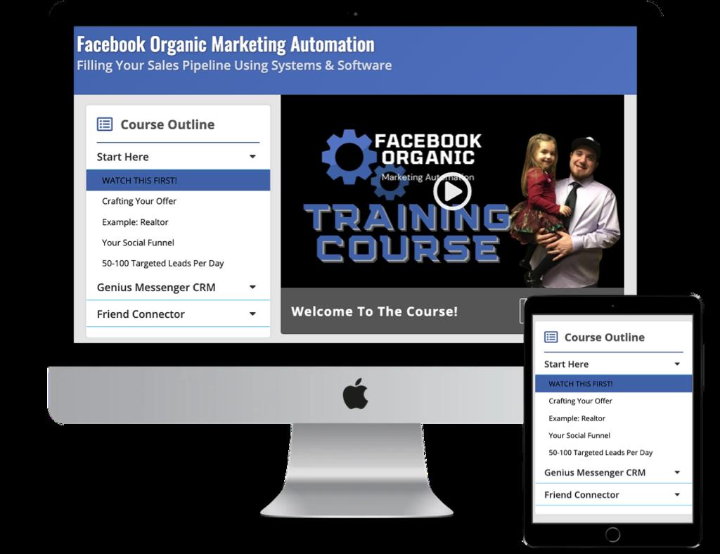 Facebook Organic Marketing Automation Course