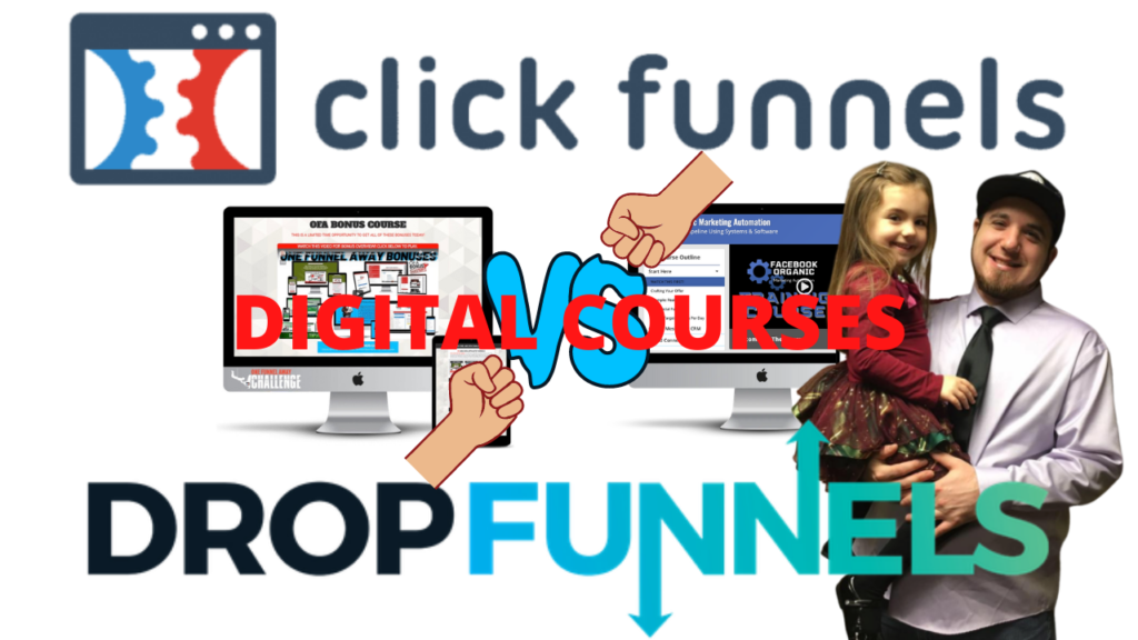 ClickFunnels Vs DropFunnels Digital Courses