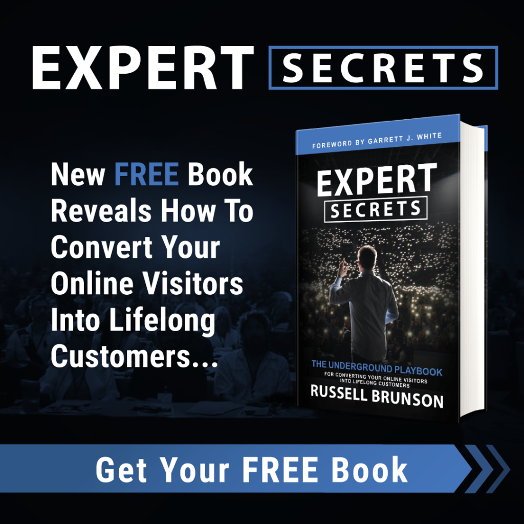 Expert Secrets: Get Your Free Book