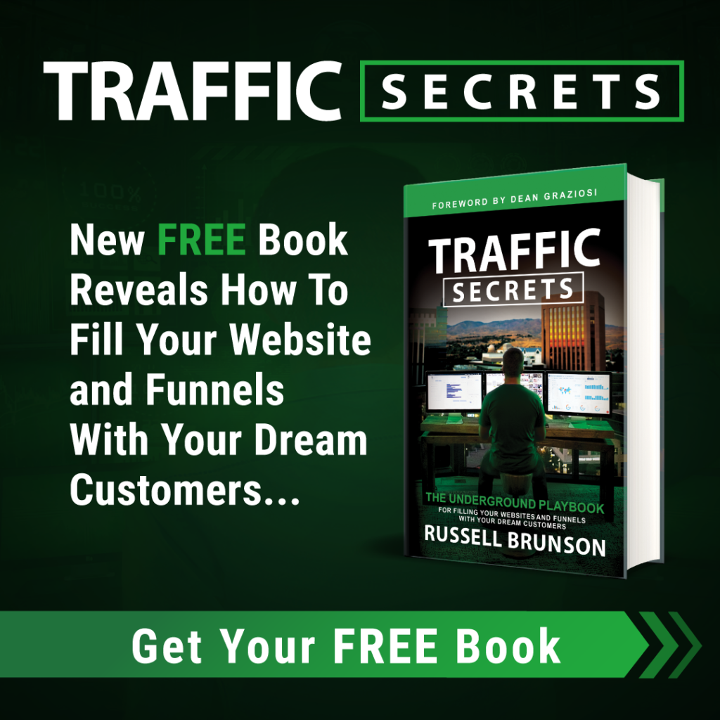 Traffic Secrets: Get Your Free Book