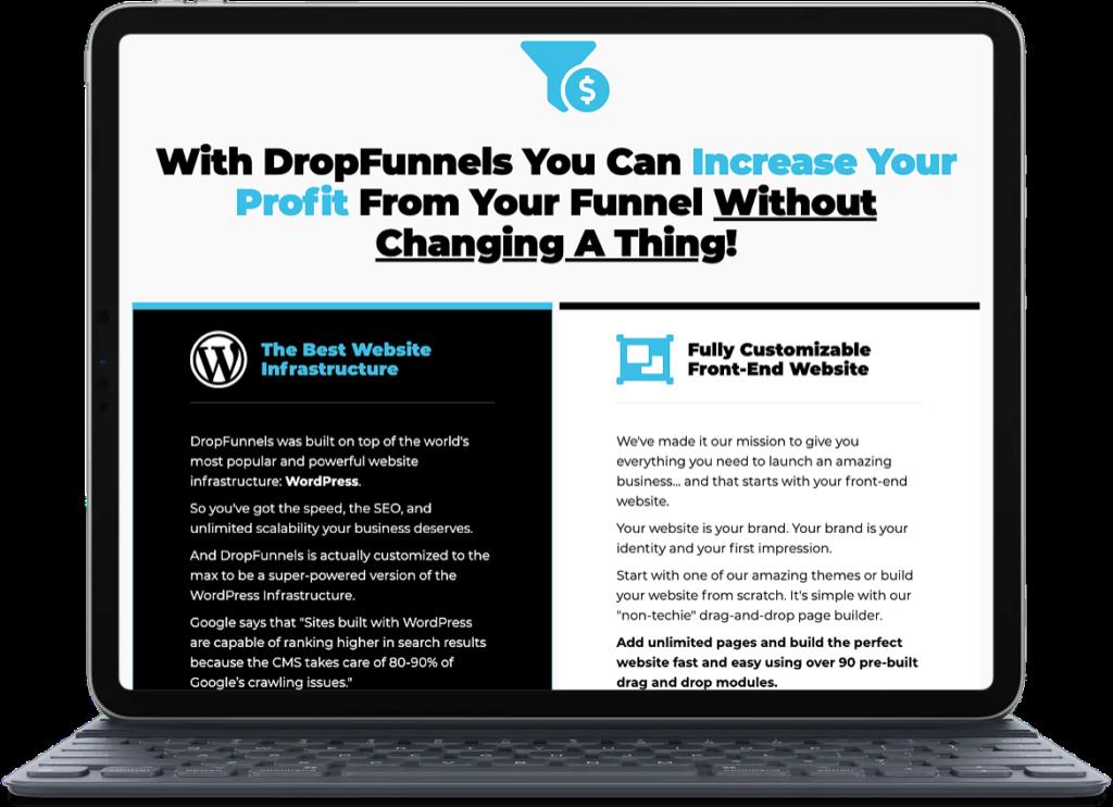 DropFunnels Site