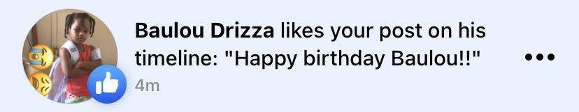 Happy Birthday Notification 3