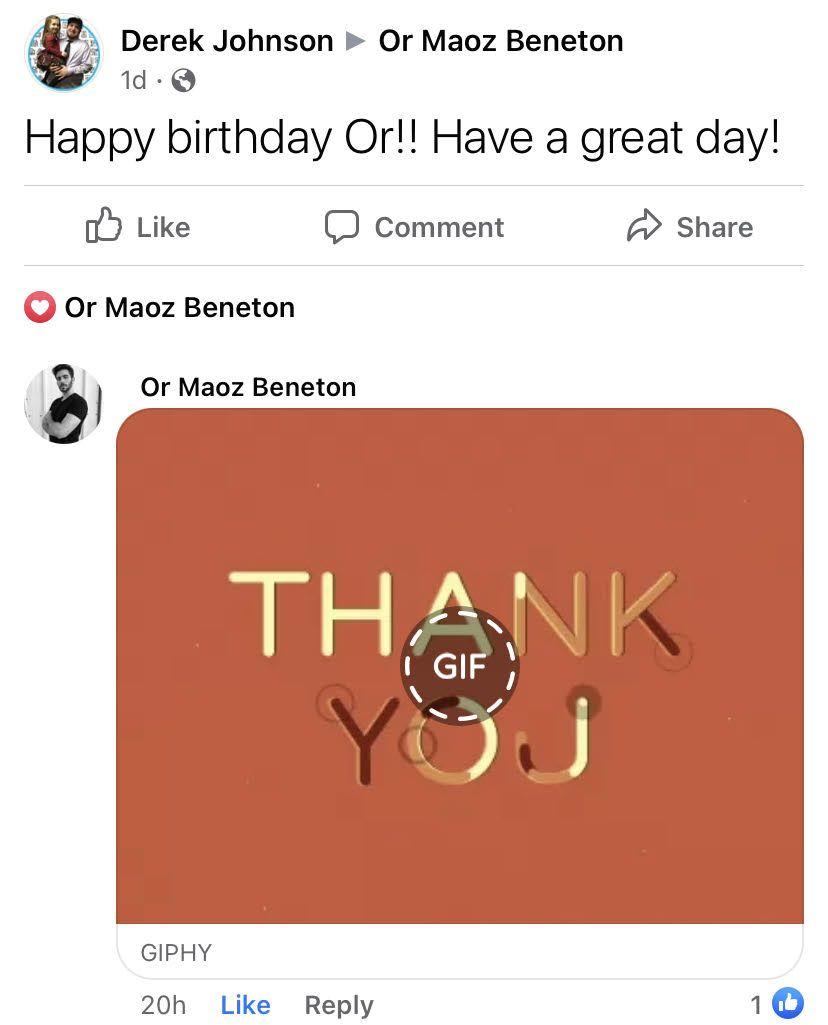 Happy Birthday Chrome Extension Post
